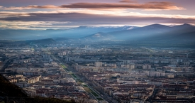 Grenoble - Sunset 220214