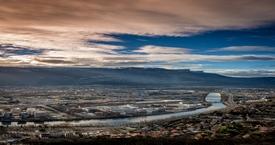 Grenoble - Sunset 220214