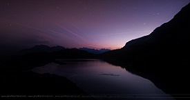 Sunrise - Lac Besson - Montage