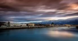 Grenoble - long exposure