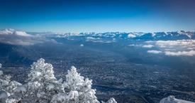 Grenoble vue d
