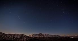 Nuit étoilée sur Chamrousse