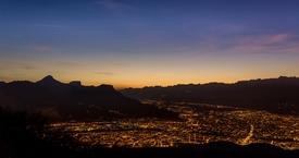 Grenoble depuis St Nizier