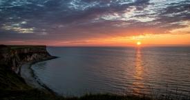 Sunset - Arromanches