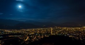Full moon Grenoble